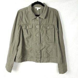 Relativity Olive Green Utility Jacket Size XL